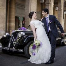 Mariage bouquet de mariée et décoration de voiture - Reflets Fleurs