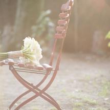 Bouquet de mariée blanc et vert - Mariage Reflets Fleurs