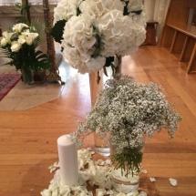 Cérémonie autel Reflets Fleurs mariage