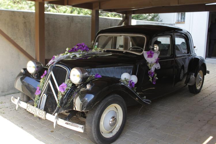 decoration voiture mariage champetre. Black Bedroom Furniture Sets. Home Design Ideas