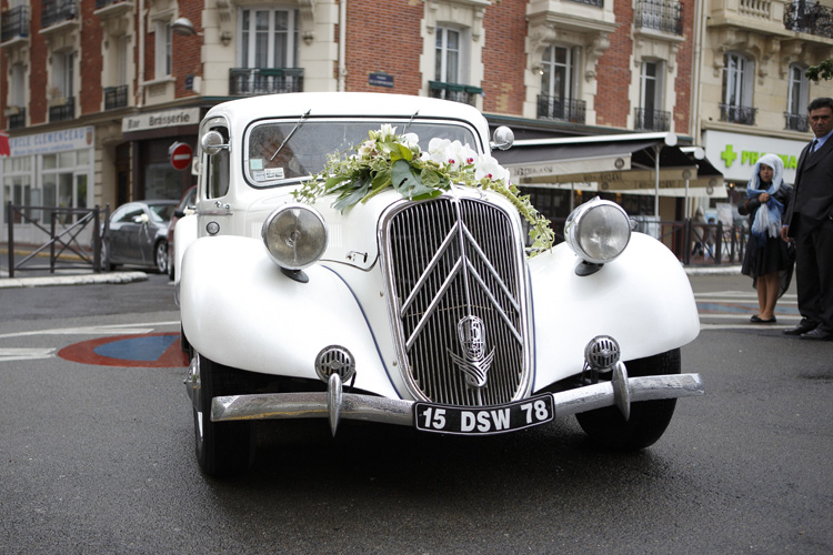 Decoration voiture mariage champetre - Fleuriste decoration voiture mariage ...