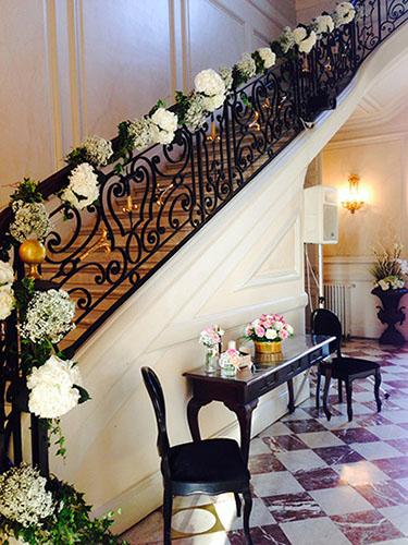 ... de reflets fleurs fleuriste paris france au château de santeny