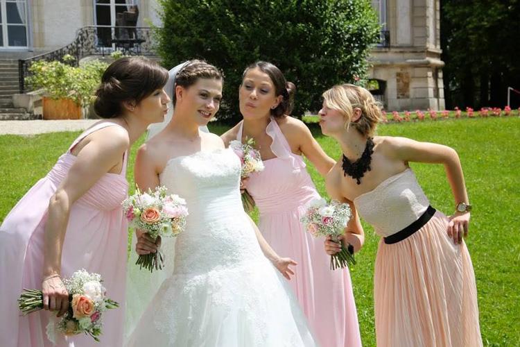 Un mariage au chateau de santeny reflets fleursreflets for Robes de demoiselle d honneur de mariage cible