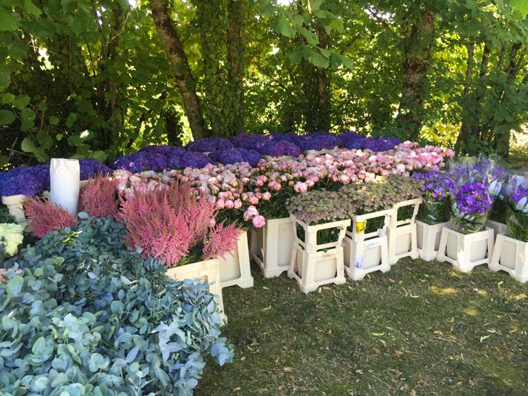 fleurs, prêt à travailler , reflets fleurs, fleuriste de votre mariage Paris-France