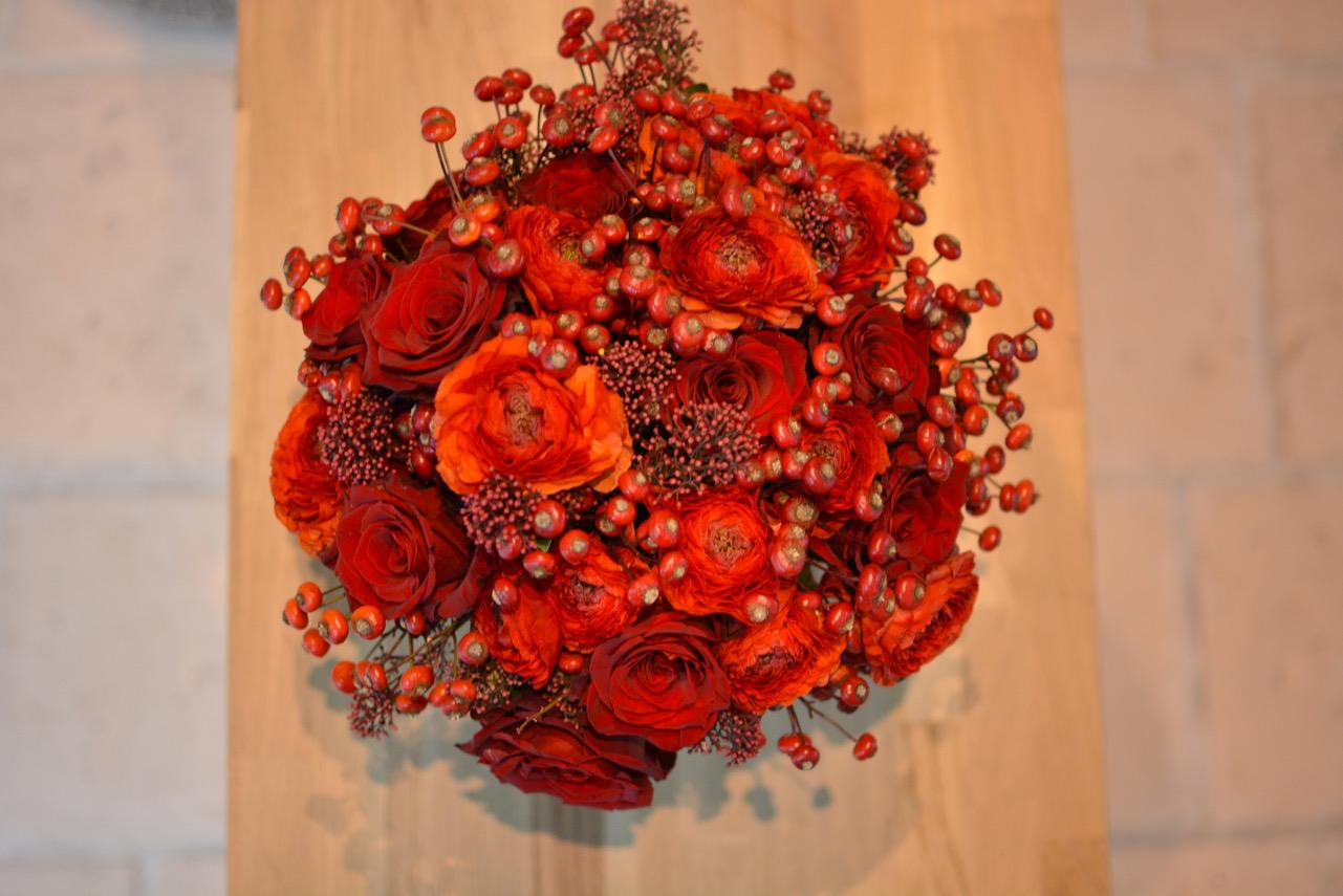 Carmin reflets fleurs sc nographe floral - Fleurs de cimetiere pour l hiver ...