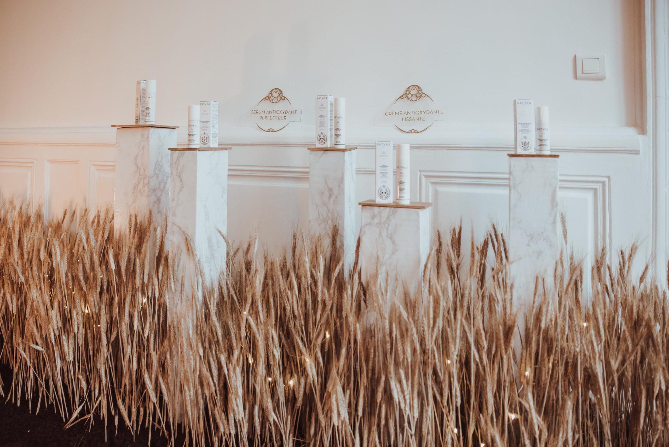 décoration florale scénographie florale évènement entreprise reflets feurs vincennes