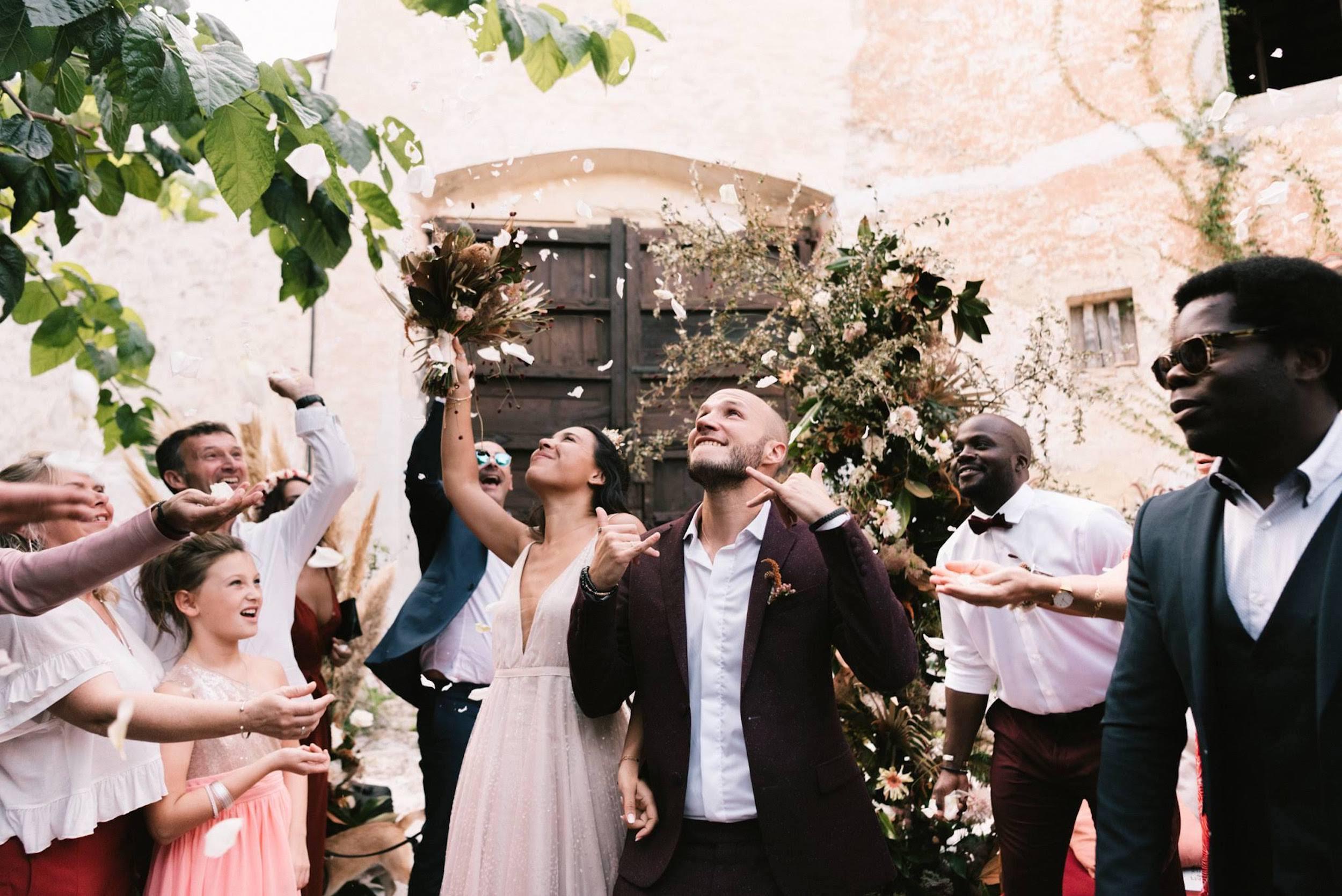 Reflets - Fleuriste mariage - Mariage terracotta et bohème à Barcelone