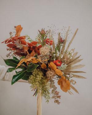 bouquet de fleurs boheme