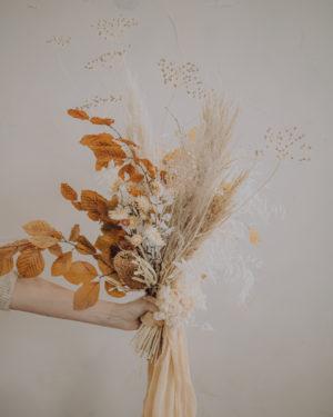 fleurs séchées bohème