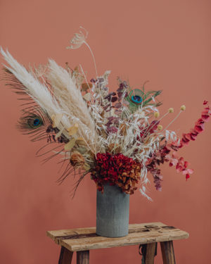 livraison fleurs séchées décoration