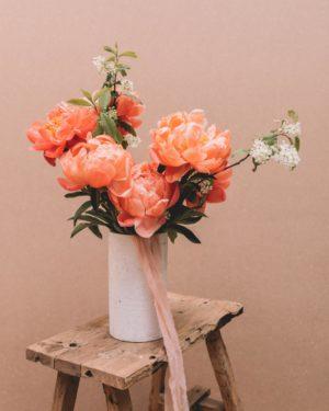 offrir bouquet pivoine