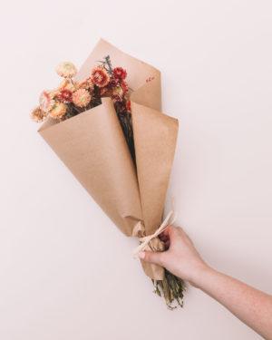 livraison fleurs séchées